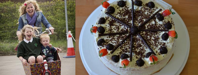Enjoy Outspoken hospitality, a cargo bike demo and cake!