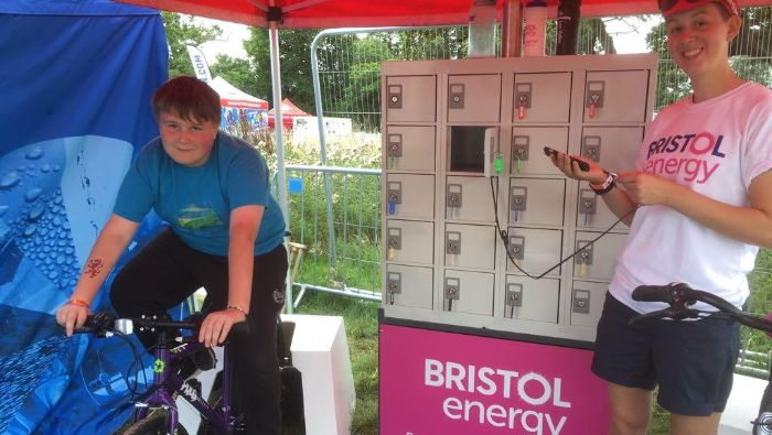 Phone Charging for Bristol Energy