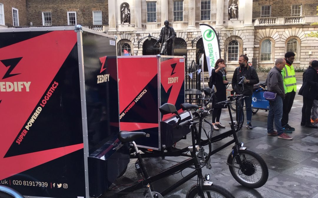 London Bridge Cargo Bike Expo