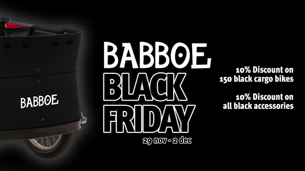 Black Friday Babboe deals!