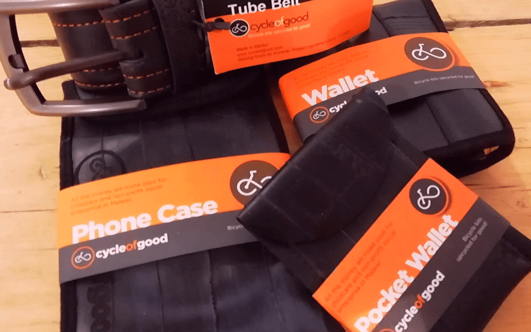 Announcement: Outspoken Cycles becomes Innertube Recycling Drop Off Point for Cycle for Good